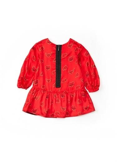 Kenzo Elbise Kırmızı